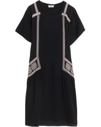 Day Birger Et Mikkelsen Day Folk Sl Crepe Dress - Lyst