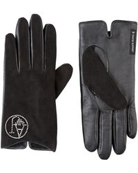 Armani Jeans - Diamantã© Logo Gloves - Lyst