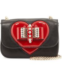 Christian Louboutin Sweety Charity Valentine Shoulder Bag - Lyst