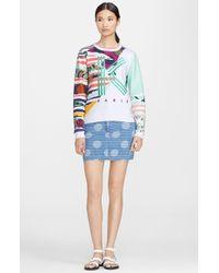 Kenzo Print Sweatshirt - Lyst
