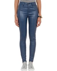 J Brand Leather Maria Jeans - Lyst