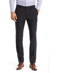 Hugo Boss Genesis | Slim Fit, Italian Virgin Wool Dress Pants - Lyst