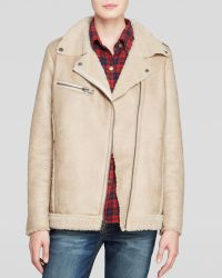 Current/Elliott Jacket - The Sherpa Faux Shearling - Lyst