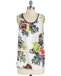 Sunny Girl Pty Lltd This Sway Up Top white - Lyst