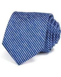W.r.k. - Diagonal Thin Stripe Classic Tie - Lyst