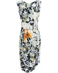 Vivienne Westwood Anglomania Print Prophecy Silk Dress - Lyst