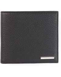 Ermenegildo Zegna Blue Foldover Wallet - Lyst