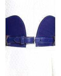 Alexander McQueen Women'S Leather Corset Belt - Lyst