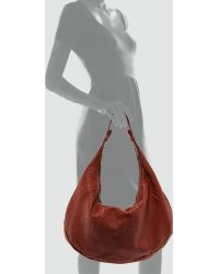 Mr. - Freida Zip Hobo Bag Cognac - Lyst