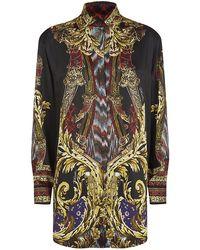 Just Cavalli Gypsy Dagger Tunic Shirt - Lyst