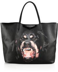 Givenchy Rottweiler Medium-Print Shopper Tote - Lyst