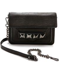 Linea Pelle - Grayson Bar Bag  Black - Lyst