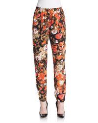 Love Sadie - Floral Print Track Pants - Lyst