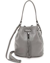 Elizabeth And James Cynnie Mini Bucket Bag  Merlot - Lyst