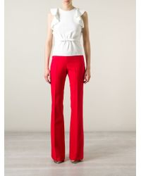 Giambattista Valli Flared Trousers - Lyst