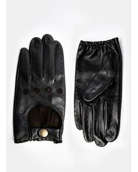 Dents Leather Driving Gloves - Lyst