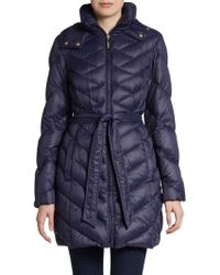 Ellen Tracy - Quilted Down Packable Jacket - Lyst