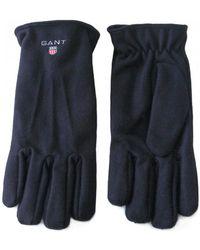 GANT - Melton Gloves - Lyst