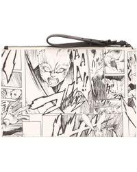 McQ by Alexander McQueen Manga Tech Clutch - Lyst