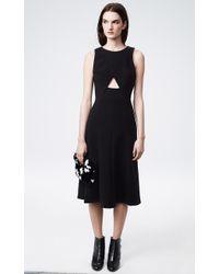 Thakoon Cutout Crepe Dress - Lyst