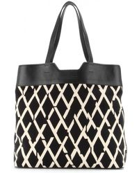 Proenza Schouler Paper Bag Canvas and Leather Tote - Lyst