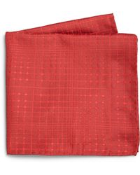 Armani Abstract Print Silk Pocket Square - Lyst