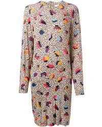 Chloé Retro Geometric Print Dress - Lyst