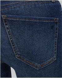 Yummie By Heather Thomson - Super Skinny Jeans In Medium Indigo - Lyst