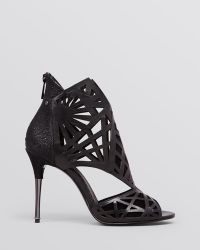 Dolce Vita Open Toe Caged Evening Sandals - Hadrian High Heel - Lyst
