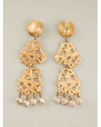 Christian Lacroix - Arabesque Baroque Earrings - Lyst