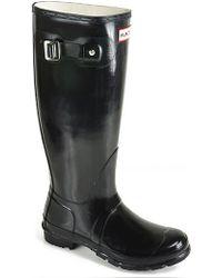 Hunter Original Gloss - Rubber Rain Boot - Lyst
