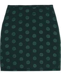Sonia By Sonia Rykiel Embossed Scuba Jersey Mini Skirt - Lyst