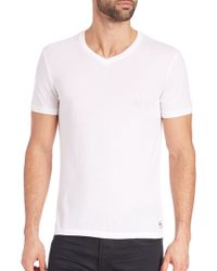 Polo Ralph Lauren   Custom-fit Jersey T-shirt   Lyst