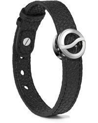 Philip Stein Leather Horizon Bracelet - Lyst