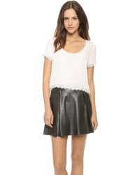 Madison Marcus Alliance Top - Ivory - Lyst