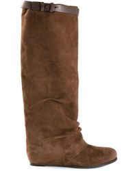 Henry Beguelin Wedge Boots - Lyst