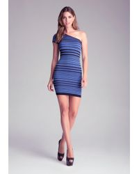 Bebe B Stripe Dress - Lyst