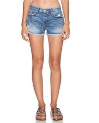 Nsf Clothing Blue Kit Shorts - Lyst