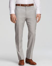 Hart Schaffner Marx - Platinum Label Trousers - Classic Fit - Bloomingdale's Exclusive - Lyst