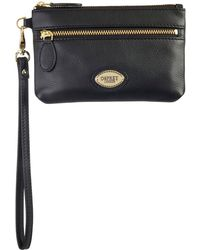 Osprey London - Hendry Small Zip Around Purse - Lyst