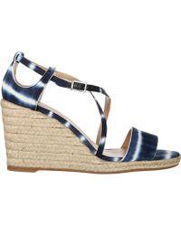 Tabitha Simmons Sandals blue - Lyst