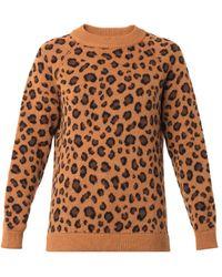 Tak.ori - Cortina Leopard Knit Sweater - Lyst