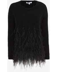 Elizabeth And James Feather Pullover - Lyst