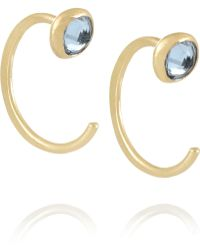 Melissa Joy Manning 14-Karat Gold Topaz Earrings - Lyst