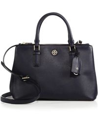 Tory Burch Robinson Double-Zip Tote - Lyst