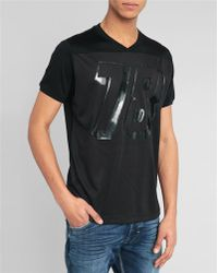 Diesel Black Fani Basket T-Shirt black - Lyst