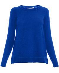 Diane Von Furstenberg Solid Sweater - Lyst