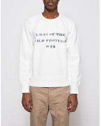 Need Supply Co. - Stencil Vintage Crew L/s - Lyst