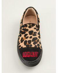 Markus Lupfer Leopard Print Sneakers - Lyst