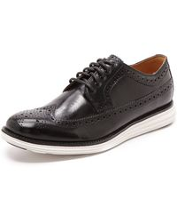 Cole Haan Lunargrand Longwing Brogues - Lyst
